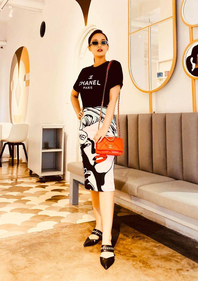 Street style của dàn diễn viên VTV: Linh và Tuệ Lâm cùng chọn váy dáng dài, Phương Oanh váy màu chóe 10