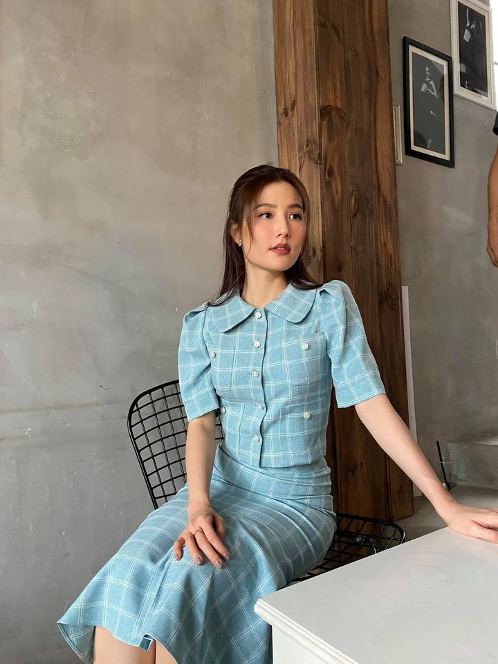 Street style của dàn diễn viên VTV: Linh và Tuệ Lâm cùng chọn váy dáng dài, Phương Oanh váy màu chóe 14