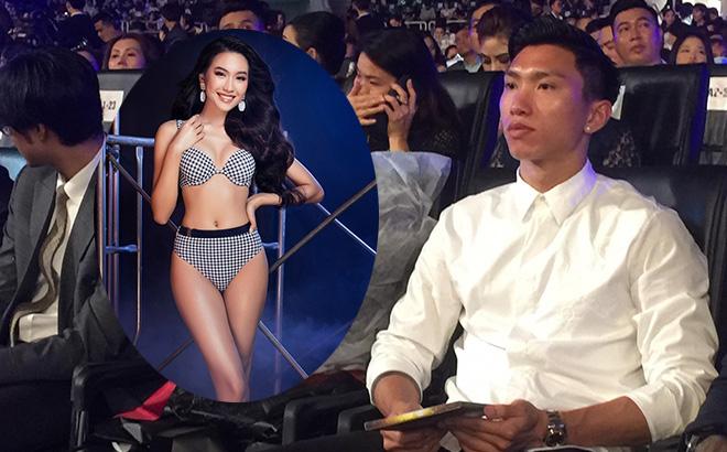 Đoàn Văn Hậu lạnh lùng xuất hiện, cổ vũ 'bạn gái' thi chung kết Hoa hậu Việt Nam? 0
