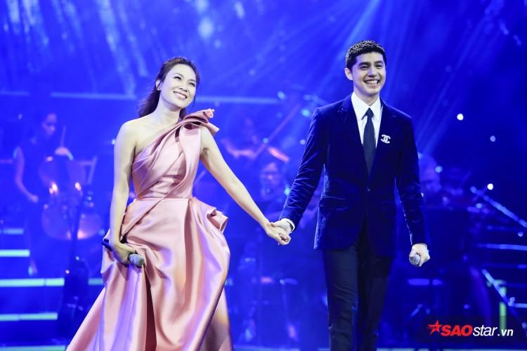 Mỹ Tâm - Noo Phước Thịnh song ca trong đêm nhạc hoành tráng tại Hà Thành.