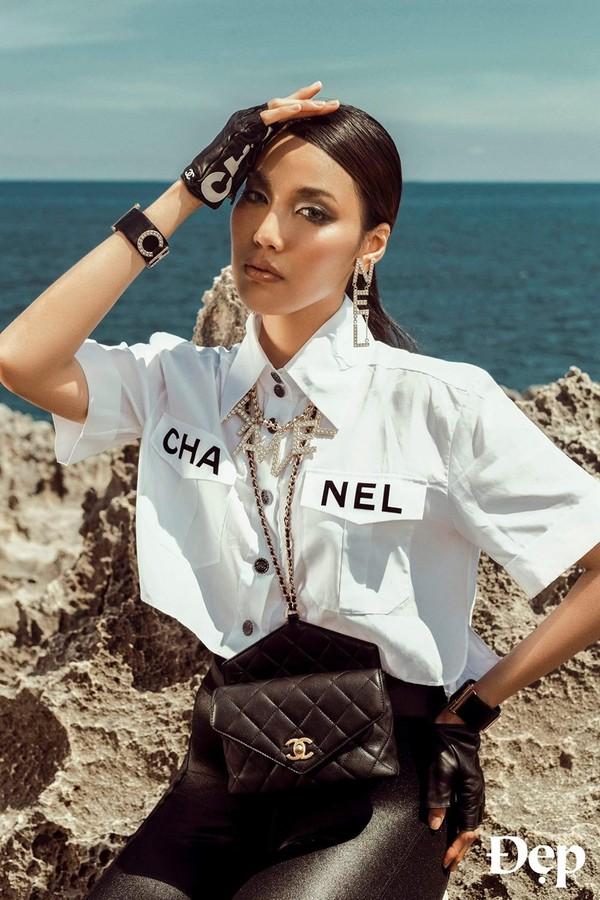 Lan Khuê, Châu Bùi, Jennie Black Pink thậm chí cả Phượng Chanel 'đại chiến' chỉ vì chiếc áo crop-top 50 triệu 12