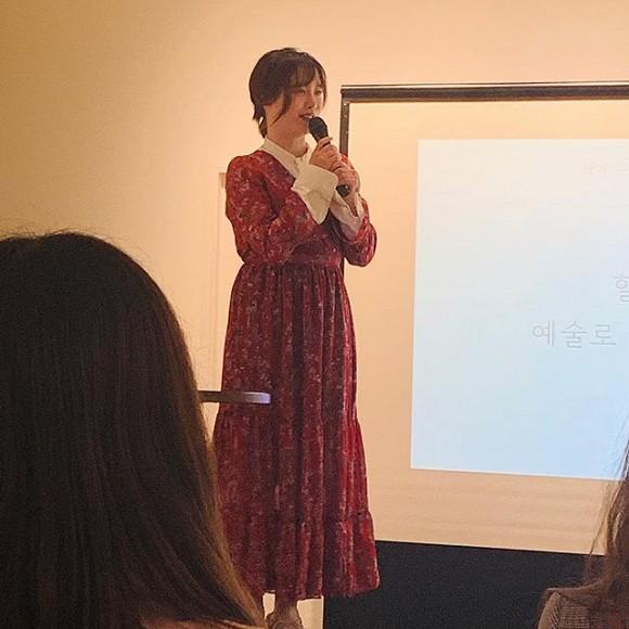 'Nàng cỏ' Goo Hye Sun lộ vòng 2 lớn sau tin đồn trục trặc hôn nhân với chồng trẻ 3
