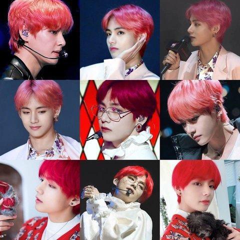 Tới mái tóc đỏ lòe loẹt