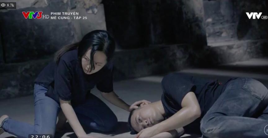'Mê cung': Việt Anh lao vào bóp cổ bồ nhí của ông chủ, để mặc người tình gào thét xin tha 5