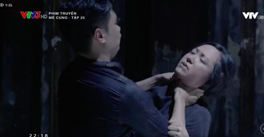 'Mê cung': Việt Anh lao vào bóp cổ bồ nhí của ông chủ, để mặc người tình gào thét xin tha 10