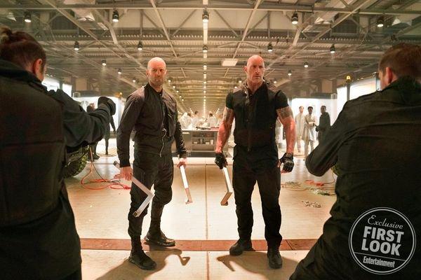 Fast & Furious Presents: Hobbs & Shaw - Jason Statham and Dwayne Johnson