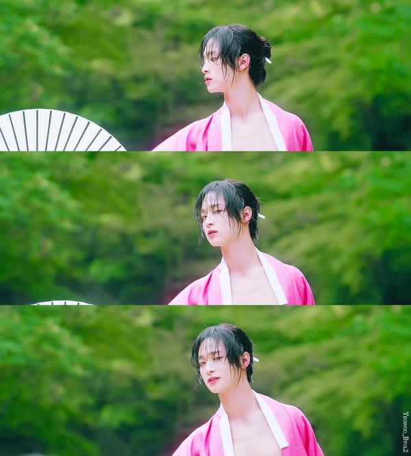 Sửng sốt trước tạo hình kỹ nữ của Kim So Hyun trong phim hài lãng mạn 'Sử ký Nok Do' 2