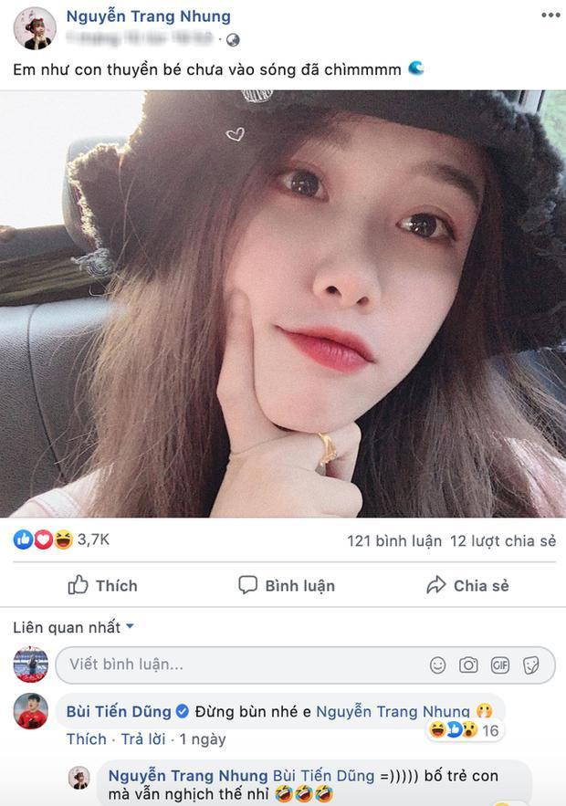 Tiến Dũng trêu đùa bạn gái Văn Toàn.