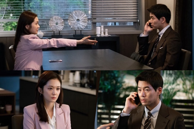 Lên sóng 2 tập đầu tiên, Na Jung Sun (Jang Nara) đã bóc phốt chồng ngoại tình.