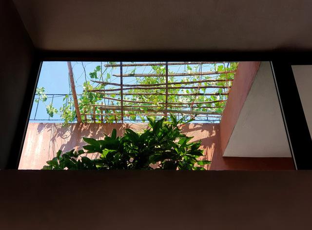 Không gian sống độc đáo với kiến trúc gần gũi với thiên nhiên.