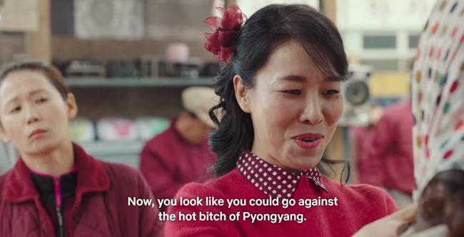 Còn đây là bà thím nhiều chuyện Yang Ok Geum (Cha Chung Hwa) trong Crash Landing On You, bạn có nhận ra không?