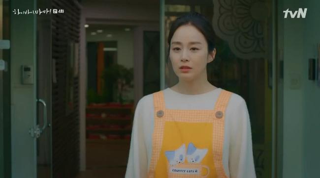 Cha Yoo Ri hạnh phúc vì cuối cùng đã hoàn thành tâm nguyện của linh hồn 'nhí' này.
