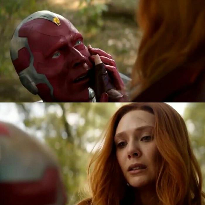 Chẳng nỗi đau nào sánh bằng nỗi đau tự tay lấy mạng người mình yêu của Scarlet Witch.