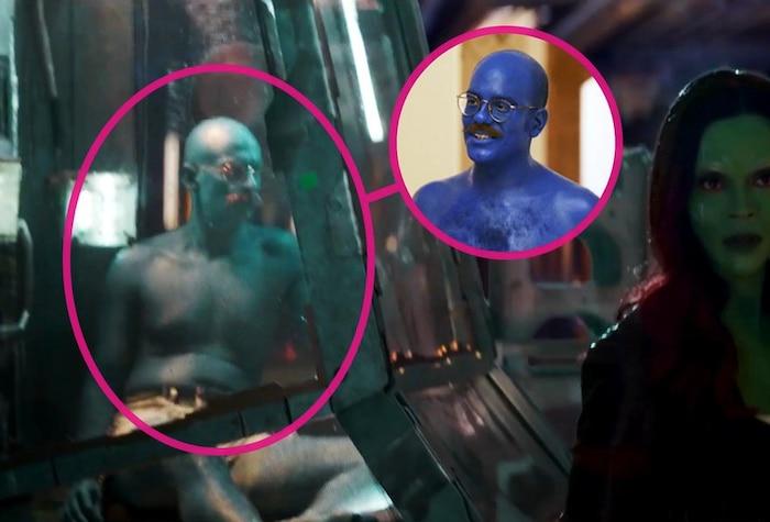 Nhân vật Tobias Fünke xanh rờn xuất hiện tại hang ổ của The Collector.