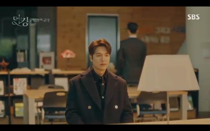Quân vương bất diệt tập 4: Kim Go Eun 'sốc tận óc' vì nhảy sang thế giới song song của Lee Min Ho? 11