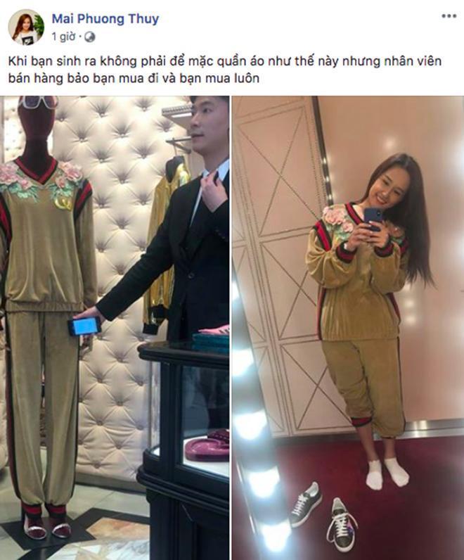 Cô tự 'dìm hàng' bản thân khi diện trang phục hàng hiệu như hàng chợ.