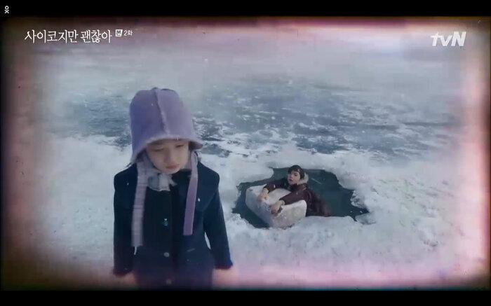 'It's Okay to Not Be Okay' tập 2: 'Điên nữ' Seo Ye Ji vô tư đánh người để bảo vệ 'crush' Kim Soo Hyun 1