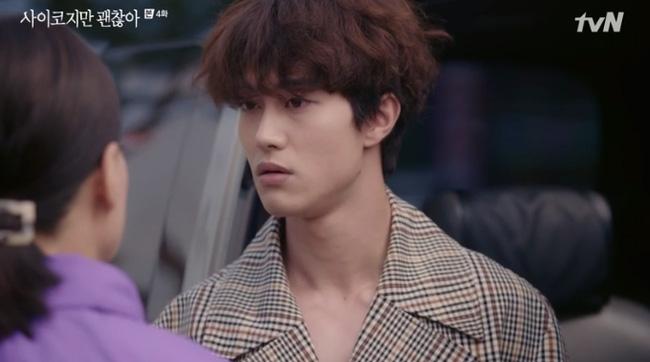 'Điên thì có sao?' tập 4: Mãn nhãn cảnh Kim Soo Hyun ôm gái xinh dưới mưa siêu lãng mạn 1
