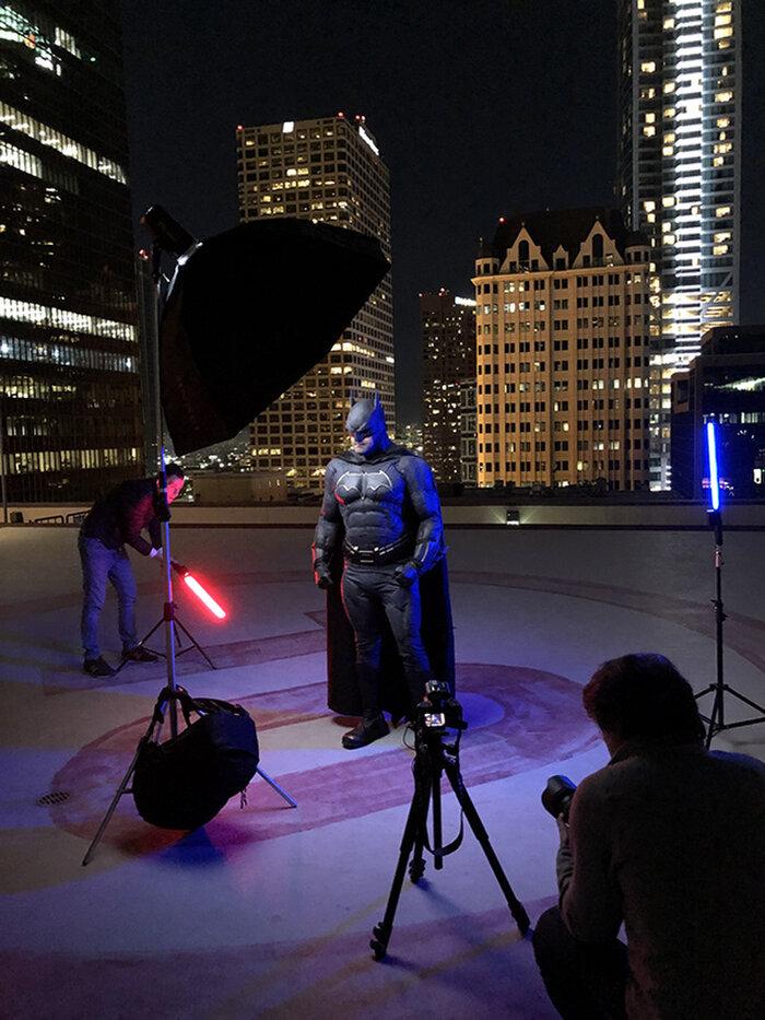 Cùng ngắm loạt ảnh Batman cực chất do nhiếp ảnh gia người Nga thực hiện 2