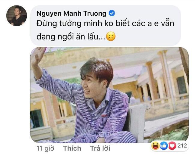 Mạnh Trường 'cà khịa' đồng nghiệp sau tập cuối 'Tình yêu và tham vọng' khiến dân mạng bật cười, dàn sao Việt lại khen tới tấp 0