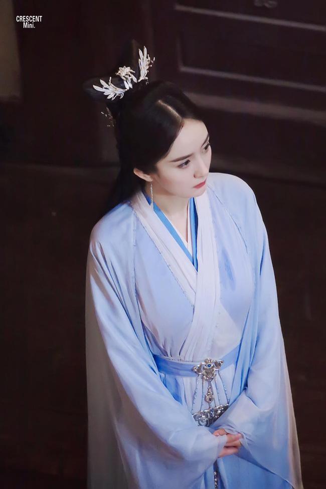 Tạo hình xinh đẹp của Dương Mịch trong 'Cửu Châu Hộc Châu phu nhân'.