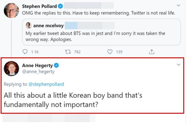 BTS bất ngờ bị nữ MC người Anh nhận xét: 'Nhãi ranh, chẳng có gì quan trọng' 2