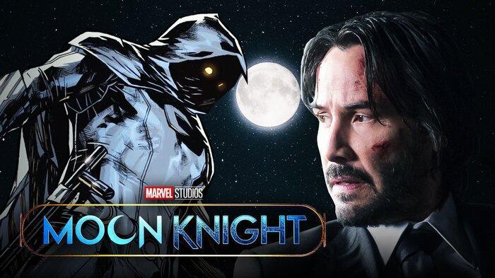 Keanu Reeves được Marvel nhắm tới cho vai sát thủ 'Moon Knight' trong MCU 2