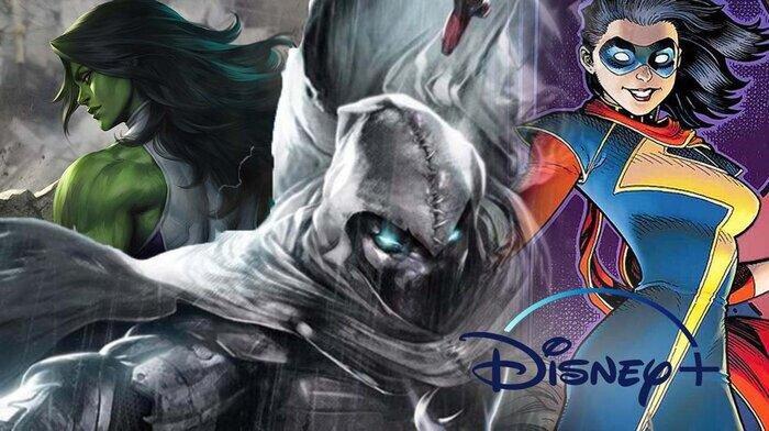 3 series được Marvel công bố trong năm 2019
