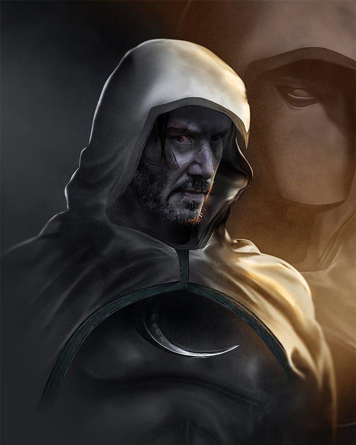 Keanu Reeves được Marvel nhắm tới cho vai sát thủ 'Moon Knight' trong MCU 3