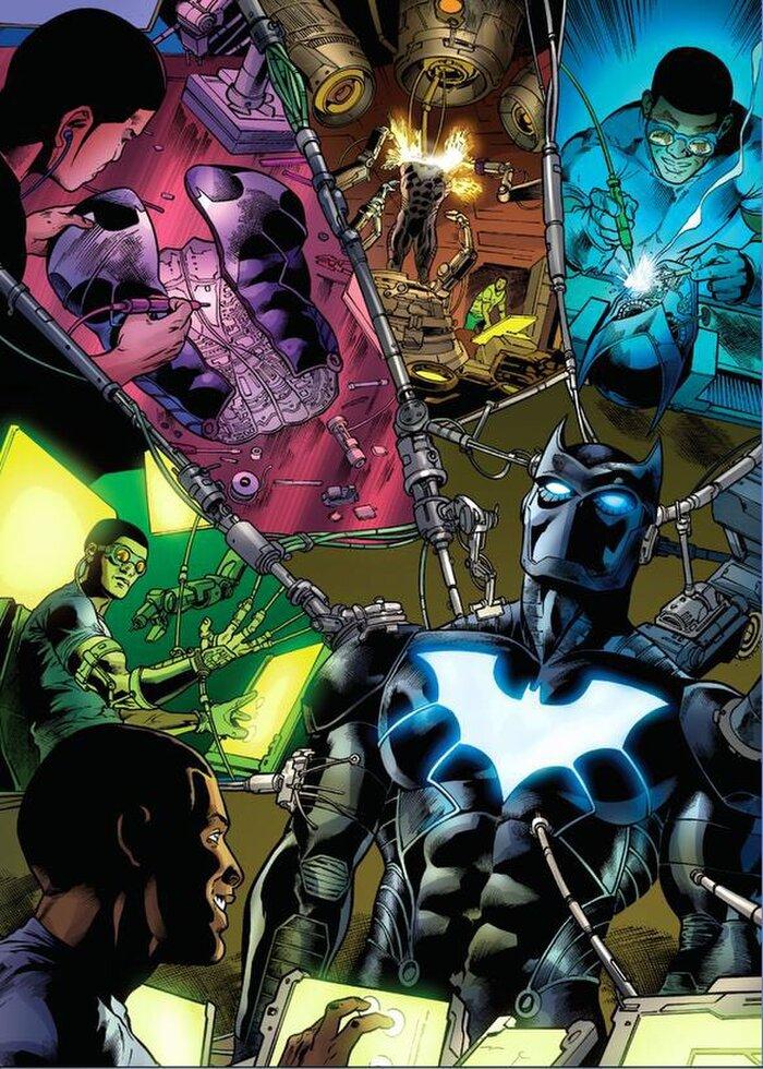 Batman mới của DC Comics sẽ là 1 Batman da màu? 1