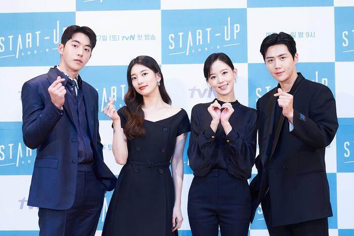 Họp báo 'Start-up': Suzy tựa nữ thần nhưng bị Nam Joo Hyuk 'ghẻ lạnh' vì nam phụ 0