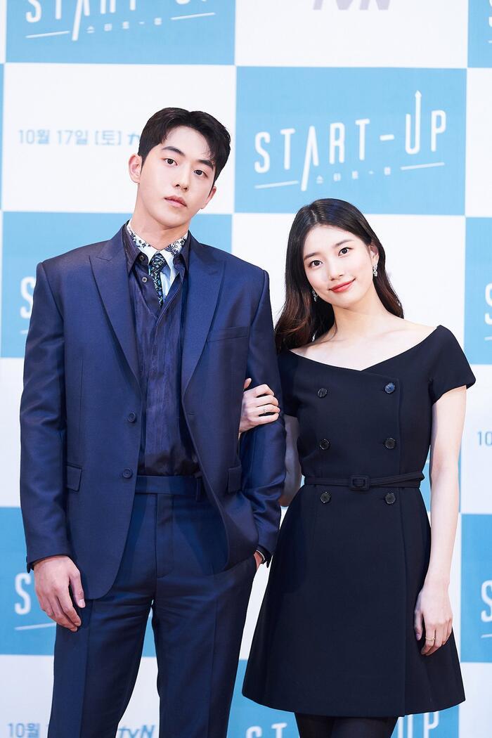 Họp báo 'Start-up': Suzy tựa nữ thần nhưng bị Nam Joo Hyuk 'ghẻ lạnh' vì nam phụ 6