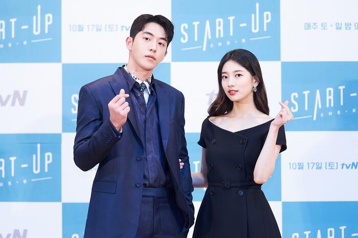 Họp báo 'Start-up': Suzy tựa nữ thần nhưng bị Nam Joo Hyuk 'ghẻ lạnh' vì nam phụ 7