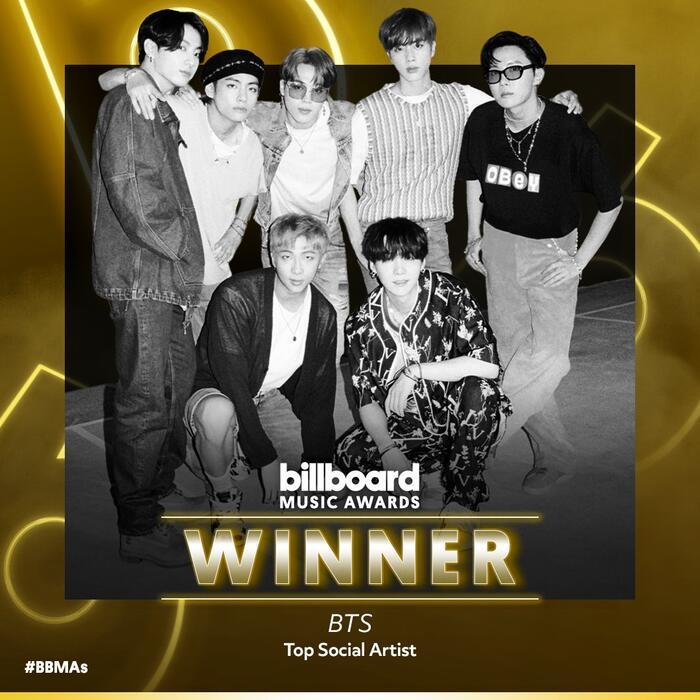 BTS tiếp tục công phá Billboard Music Awards 2020: 4 năm liên tiếp giành chiến thắng ở cùng hạng mục 0