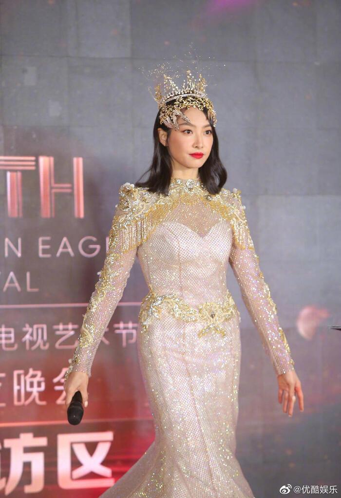 Trở thành 'Nữ thần Kim Ưng 2020' sau tin đồn gian lận phiếu bầu, Tống Thiến đáp trả cực gắt: 'Dù không chuyên nghiệp, chăm chỉ là được' 11