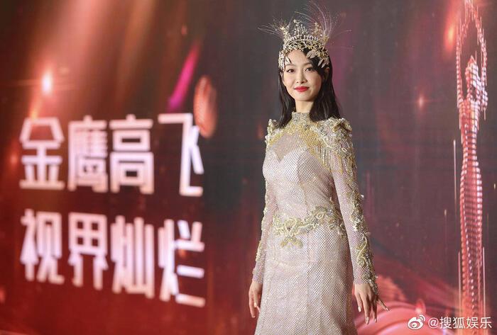 Trở thành 'Nữ thần Kim Ưng 2020' sau tin đồn gian lận phiếu bầu, Tống Thiến đáp trả cực gắt: 'Dù không chuyên nghiệp, chăm chỉ là được' 14