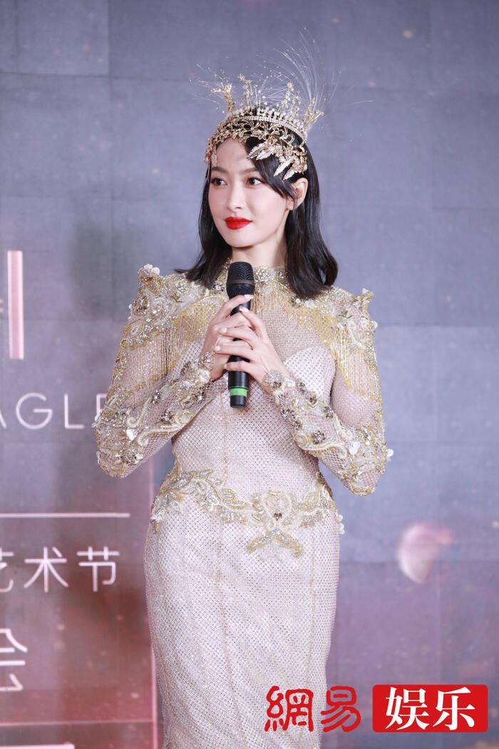 Trở thành 'Nữ thần Kim Ưng 2020' sau tin đồn gian lận phiếu bầu, Tống Thiến đáp trả cực gắt: 'Dù không chuyên nghiệp, chăm chỉ là được' 18