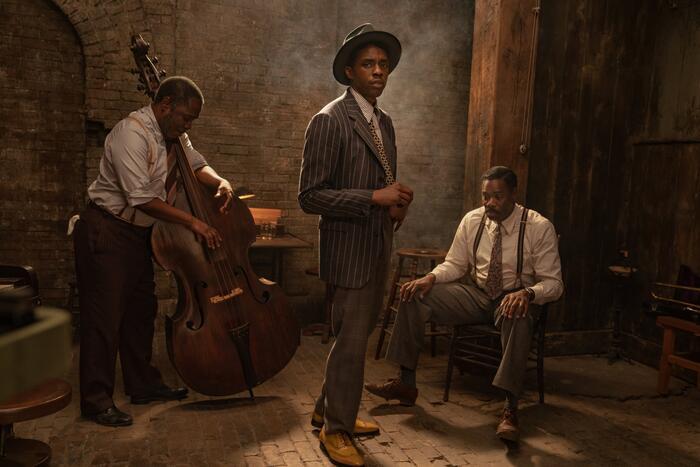 Netflix tung poster phim cuối cùng của Chadwick Boseman 0