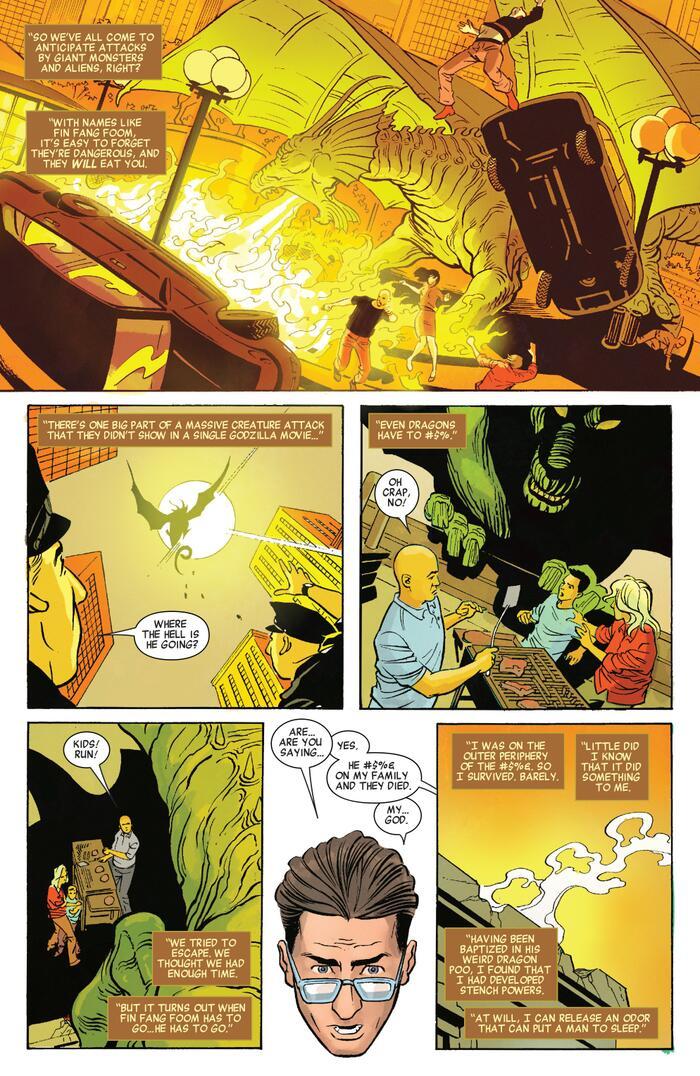 Top 6 nhân vật có năng lực nhảm nhí nhất Marvel & DC (P.1) 1