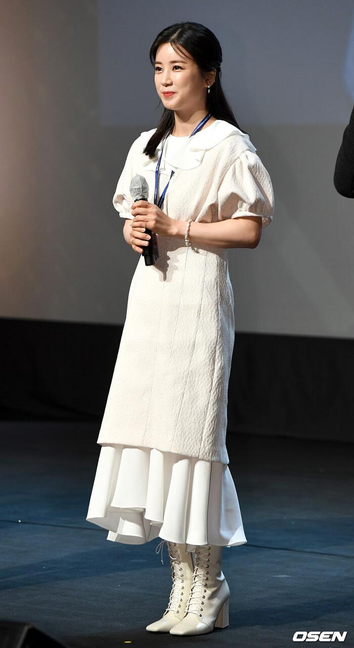 Goo Hye Sun rạng rỡ sau ly hôn, đọ sắc loạt sao Hàn trên thảm đỏ 'LHP Bucheon 2020' 16