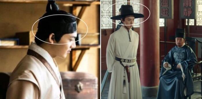 Wangjin và Gat theo phong cách Han Quốc trong phim Trung.