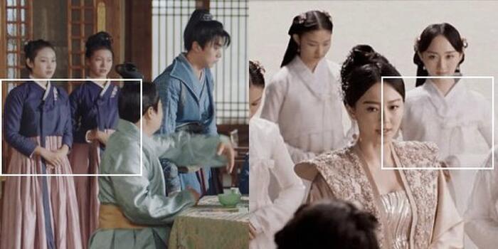 Phim của Dương Mịch - Địch Lệ Nhiệt Ba bị tố ăn cắp, 'hạ bệ' trang phục truyền thống Hàn Quốc 9