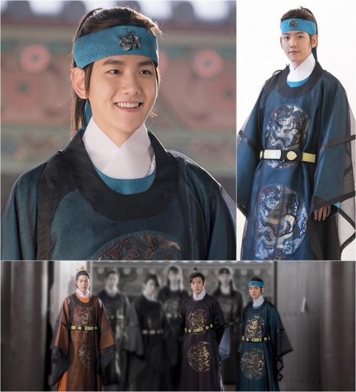 Baekhyun trong 'Người tình ánh trăng'.