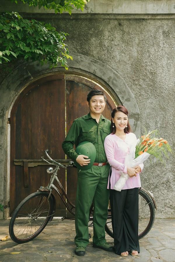 Dù là trong vai nào cặp đôi cũng rất dễ thương