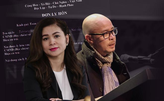 Vợ chồng ông chủ cà phê Trung Nguyên ra tòa ly hôn ngày sát Tết 0