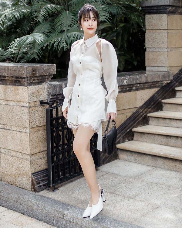 Từ sau đính hôn, Đông Nhi càng ngày càng đẹp, gu thời trang sang trọng khó cưỡng 2