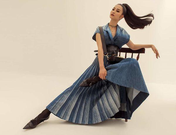 Từ sau đính hôn, Đông Nhi càng ngày càng đẹp, gu thời trang sang trọng khó cưỡng 6