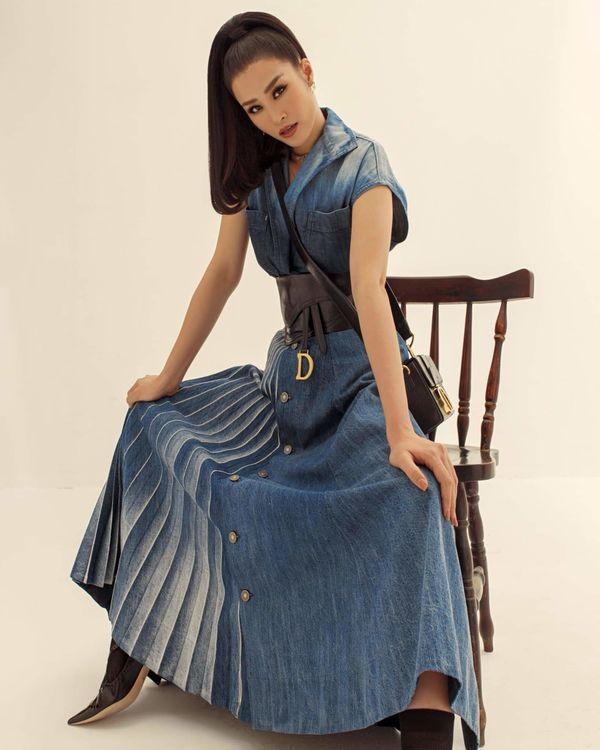 Từ sau đính hôn, Đông Nhi càng ngày càng đẹp, gu thời trang sang trọng khó cưỡng 5
