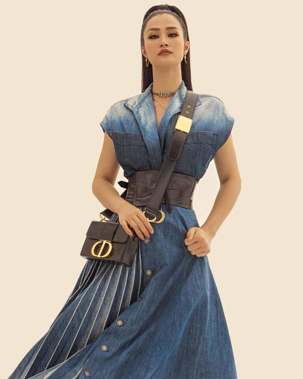 Từ sau đính hôn, Đông Nhi càng ngày càng đẹp, gu thời trang sang trọng khó cưỡng 4