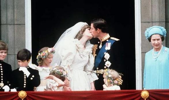 Thái tử Charles và Công nương Diana trao lời thề nguyện